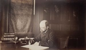 Henry_Adams_seated_at_desk_in_dark_coat,_writing,_photograph_by_Marian_Hooper_Adams,_1883