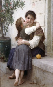 William-Adolphe_Bouguereau_(1825-1905)_-_A_Little_Coaxing_(1890)
