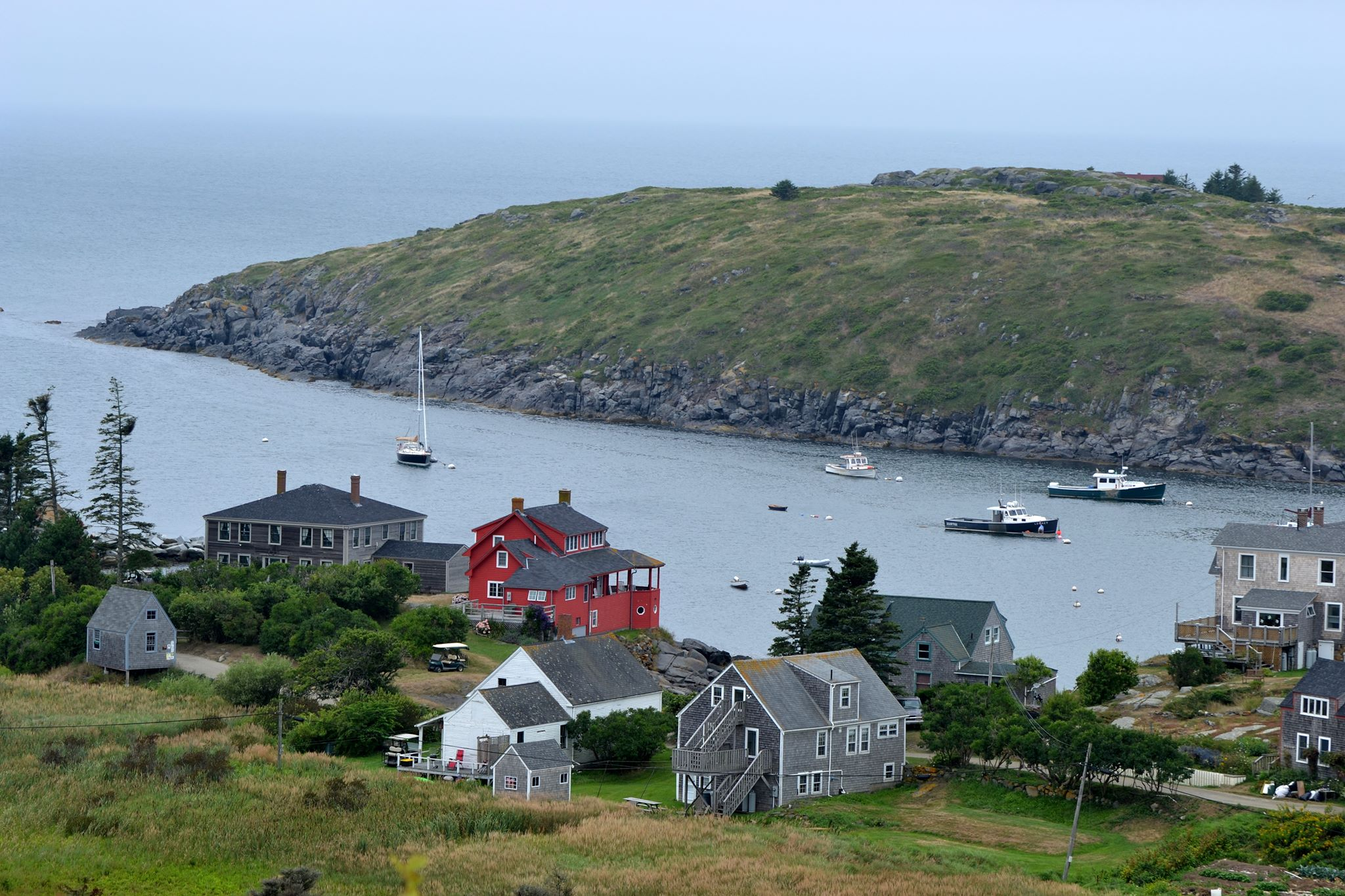 Monhegan Harbor